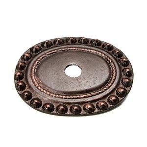 Carpe Diem Hardware Large Oval Backplate in Chrysalis