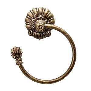 Carpe Diem Bath Accessories Aphrodite Towel Ring Left