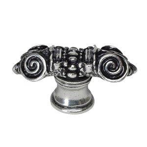 Carpe Diem Hardware Column Knob in Cobblestone