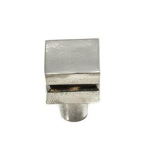 Carpe Diem Hardware Square Large Knob in Cobblestone