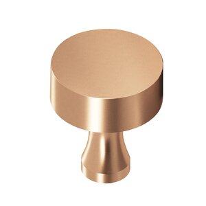 "Colonial Bronze 1"" Diameter Knob In Satin Bronze"