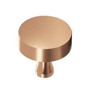 "Colonial Bronze 1 1/4"" Diameter Knob In Satin Bronze"