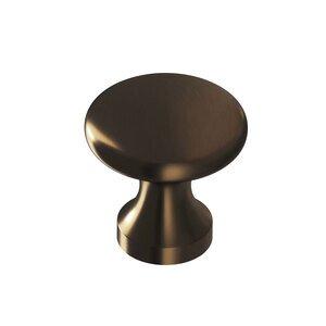 """Colonial Bronze 7/8"""" Diameter Knob In Oil Rubbed Bronze"""