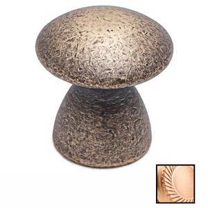 "Colonial Bronze 1 1/4"" Diameter Knob In Satin Bronze"