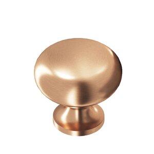 "Colonial Bronze 1 1/8"" Diameter Knob In Satin Bronze"