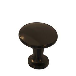 "Colonial Bronze 1 1/16"" Knob In Unlacquered Oil Rubbed Bronze"