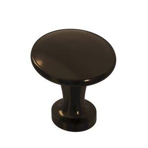 "Colonial Bronze 1 3/8"" Knob In Unlacquered Oil Rubbed Bronze"