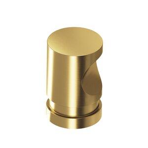 "Colonial Bronze 3/4"" Diameter Knob in Satin Brass"