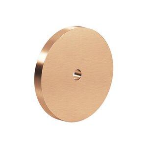 """Colonial Bronze 2 1/8"""" Diameter Backplate In Satin Bronze"""