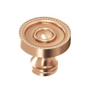 "Colonial Bronze 1 1/8"" Knob In Satin Bronze"