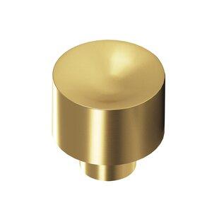 "Colonial Bronze 1 1/4"" Knob in Satin Brass"