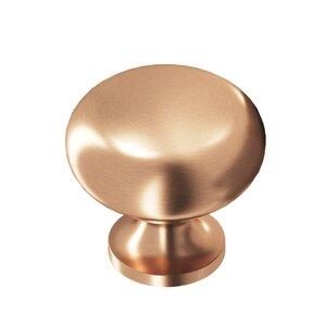"Colonial Bronze 1 1/2"" Knob In Satin Bronze"