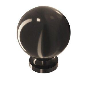 "Colonial Bronze 1 1/4"" Knob In Dark Statuary Bronze"