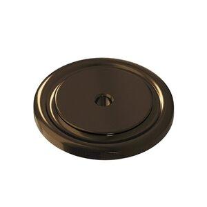 "Colonial Bronze 1 1/2"" Diameter Rose In Unlacquered Oil Rubbed Bronze"