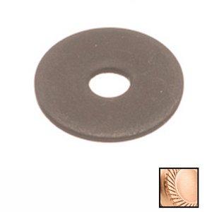 "Colonial Bronze 1"" Diameter Rose In Satin Bronze"