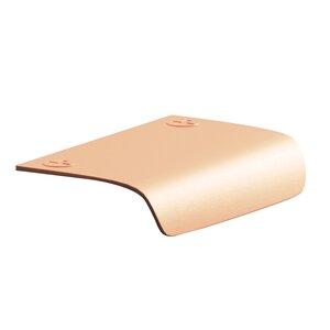 """Colonial Bronze 2 1/2"""" x 2 1/8"""" Edge Pull in Matte Satin Copper"""