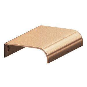 "Colonial Bronze 2 1/2"" x 1 1/2"" Edge Pull in Satin Bronze"