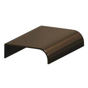 "Colonial Bronze 2 1/2"" x 1 1/2"" Edge Pull in Unlacquered Oil Rubbed Bronze"