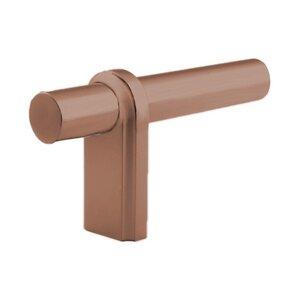 "Classic Brass 3 1/8"" L Knob in Weathered Copper"