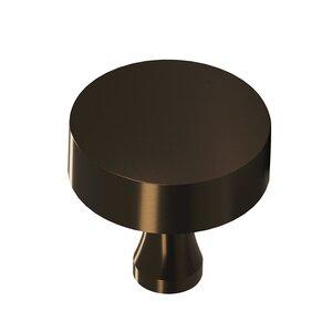 "Colonial Bronze 1 1/2"" Diameter Knob in Oil Rubbed Bronze Unlacquered"