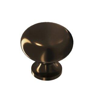 "Colonial Bronze 1 1/8"" Diameter Knob in Oil Rubbed Bronze Unlacquered"