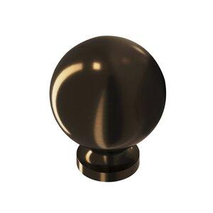 "Colonial Bronze 1"" Knob in Unlacquered Oil Rubbed Bronze"