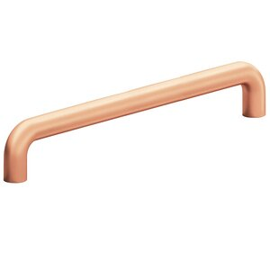 """Colonial Bronze 8"""" Centers Surface Mount Pull in Matte Satin Copper"""
