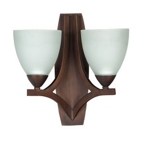 Craftmade 2 Light Wall Sconce in Old Bronze