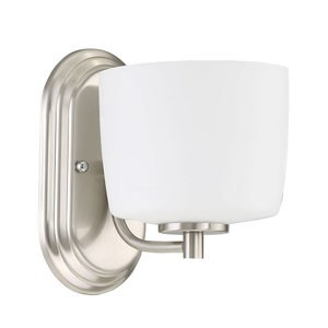 Craftmade 1 Light Wall Sconce in Brushed Polished Nickel
