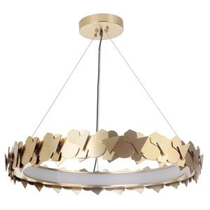 Craftmade LED Pendant in Satin Brass