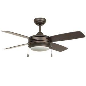 "Craftmade Lighting - Laval - 44"" Ceiling Fan in Espresso"