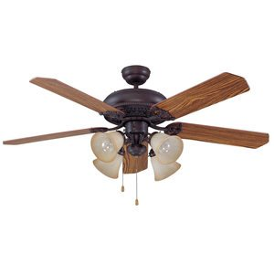 """Craftmade 52"""" Ceiling Fan in Aged Bronze Brushed"""