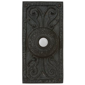 Craftmade - Designer Surface Mount - Surface Mount Designer Door Bell in Weathered Black