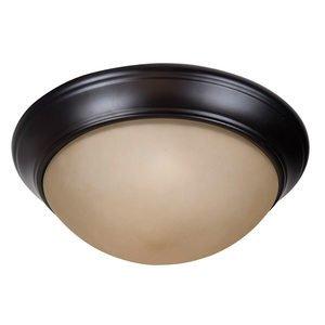 """Craftmade Pro Builder Premium 2 Light 13"""" Flushmount in Oiled Bronze"""
