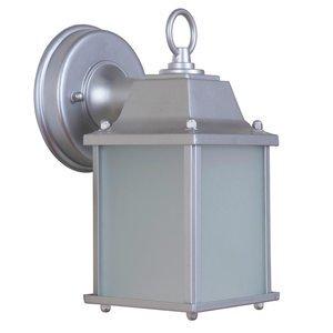 Craftmade LED Outdoor Lantern, Chromite in Chromite