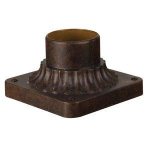 Craftmade Post Head Adapter in Peruvian Bronze Outdoor