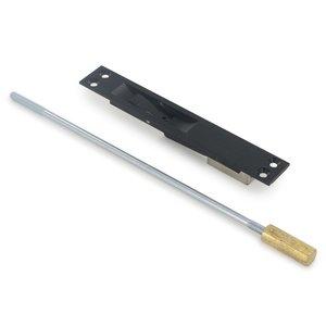 "Deltana Hardware Solid Brass 12"" Heavy Duty Rod Extension in Oil Rubbed Bronze"