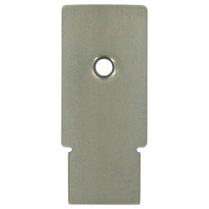 Deltana Hardware Backplate for DASH95 in Brushed Nickel