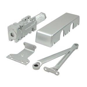 Deltana Hardware Door Closer in Aluminum