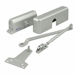 Deltana Hardware DC70 Door Closer in Aluminum