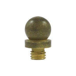 Deltana Hardware Ball Finial Tip in Bronze Medium