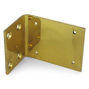 Deltana Hardware Jamb Bracket for DASH95 in PVD Brass