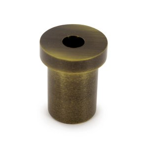 Deltana Hardware Solid Brass Pivot Base (Sold Individually) in Antique Brass