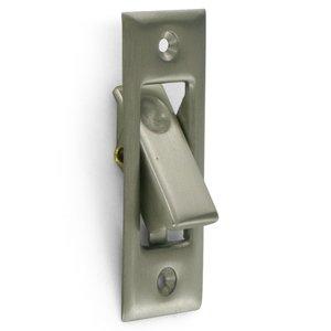 Deltana - Solid Brass Pocket Door Jamb Bolt in Satin Nickel  sc 1 st  My Knobs & Solid Brass Pocket Door Bolts - Solid Brass Pocket Door Jamb Bolt ...