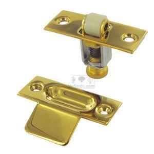 Deltana Hardware Solid Brass Roller Catch in PVD Brass