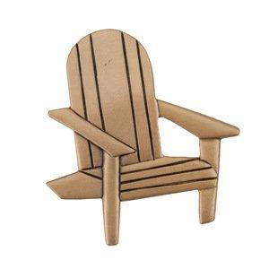"Acorn MFG 1 3/4"" Beach Chair Knob in Museum Gold"