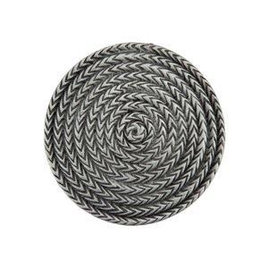 "Acorn MFG 1 1/2"" Rope Cirlce Knob in Antique Pewter"