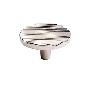 Du Verre Hardware Large Round Knob in Satin Nickel