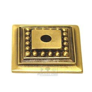 Edgar Berebi Decorative Backplate in Museum Gold