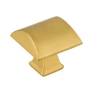"""Jeffrey Alexander 1 1/4"""" Cabinet Knob in Brushed Gold"""